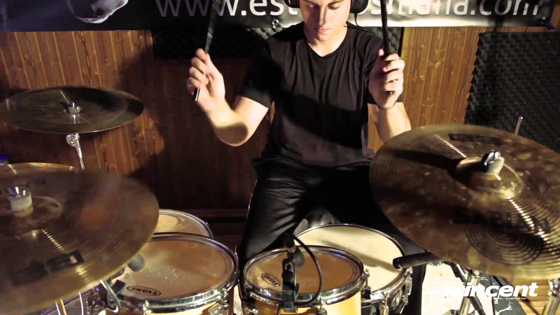 David Carballeda, de Upcoming of Devastation, Playthrough oficial para Wincent Drumsticks
