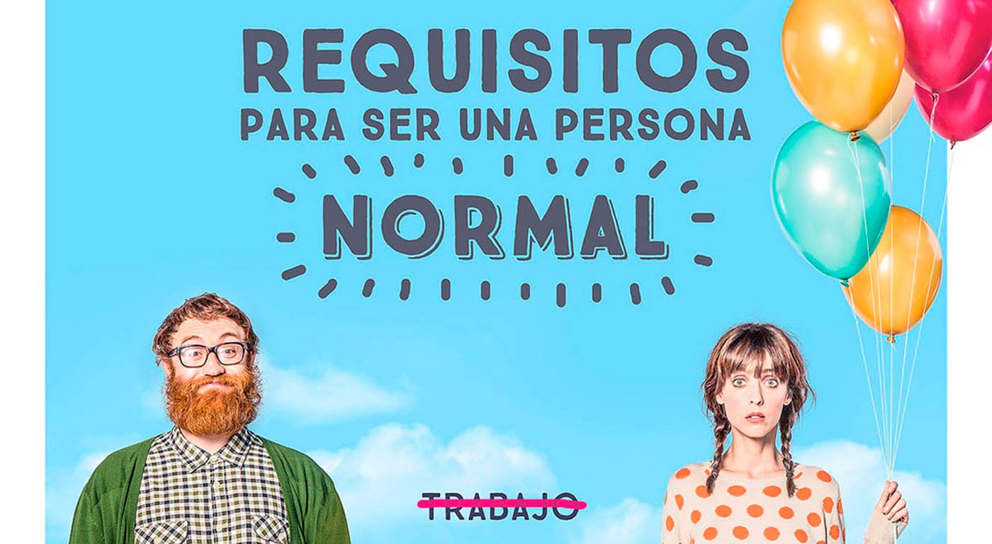 Requisitos para ser una persona normal. Con Manuel Burque y Leticia Dolera. Crítica