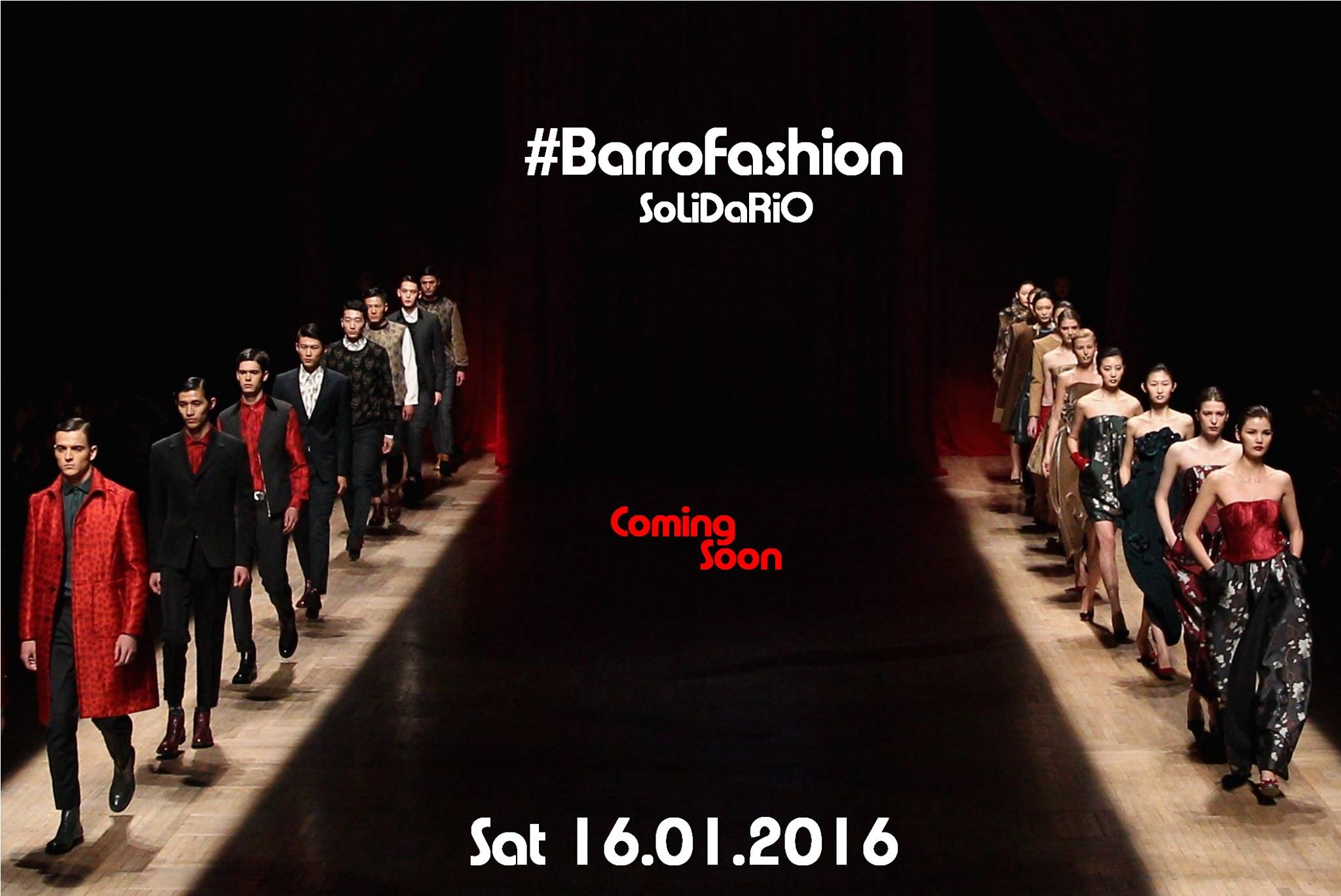 Barro Fashion Solidario. Desfile entrañable y especial