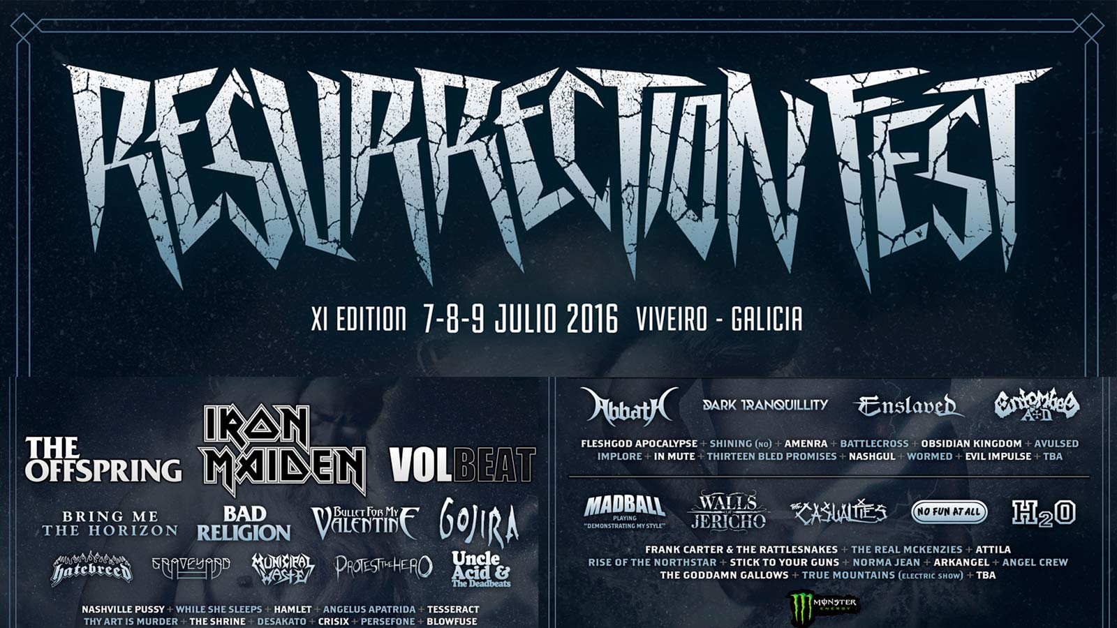 Resurrection Fest: Por fin el cartel!!!!
