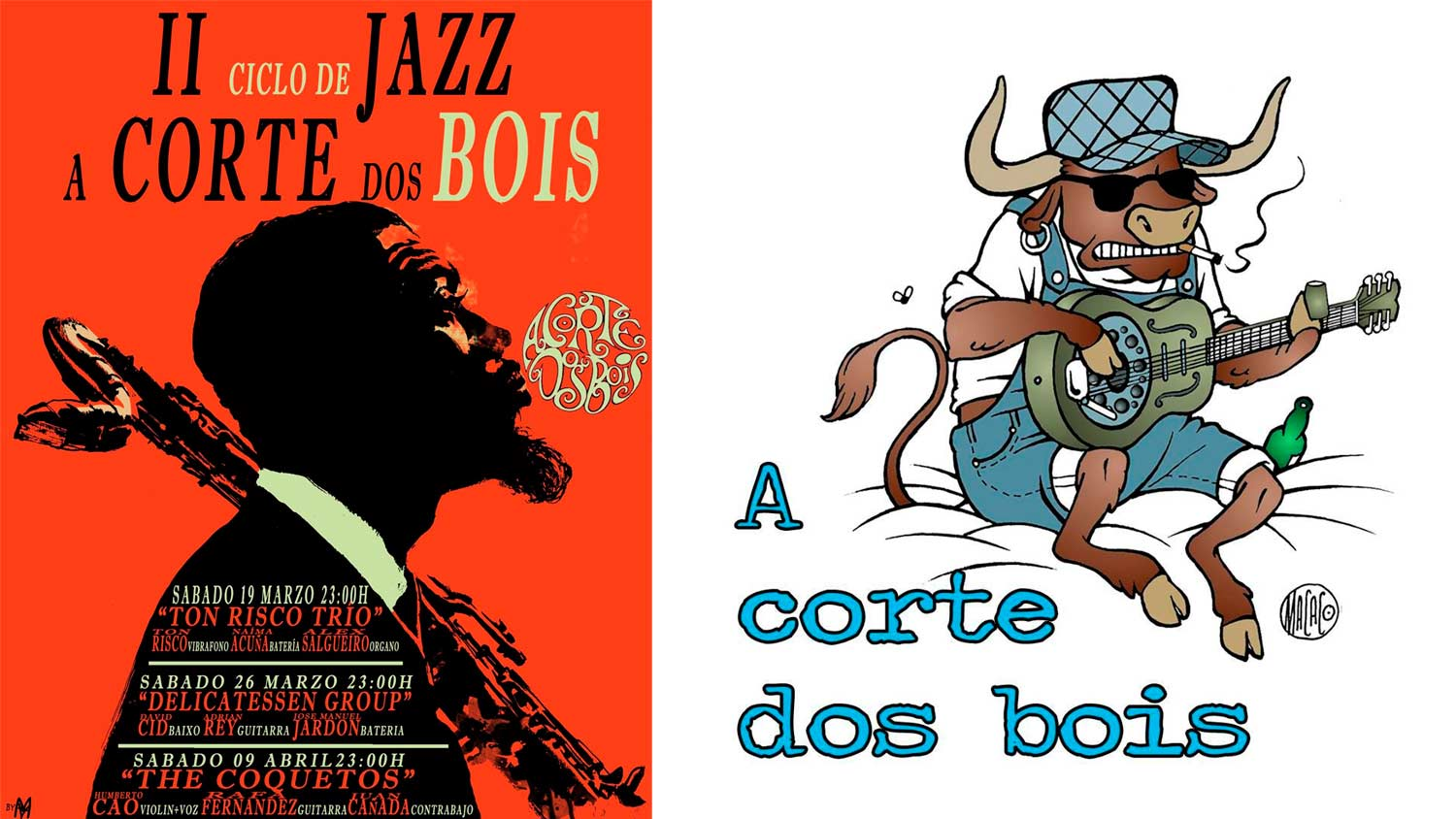 II Ciclo de Jazz en A Corte dos Bois…Galicia is different…