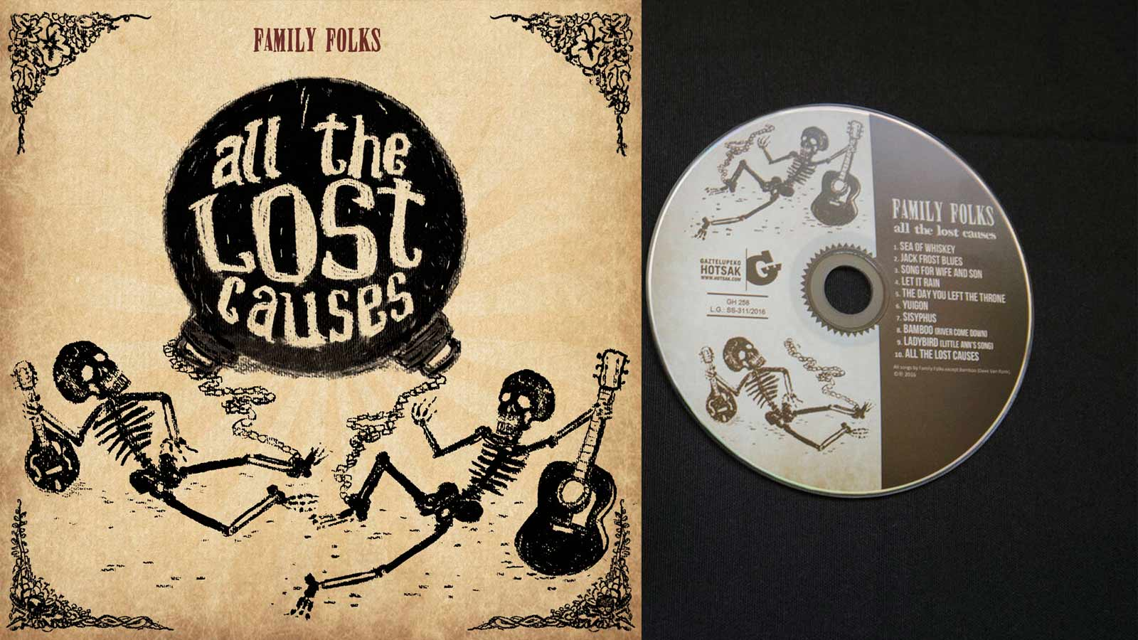 Las causas perdidas de Family Folks. Album debut.