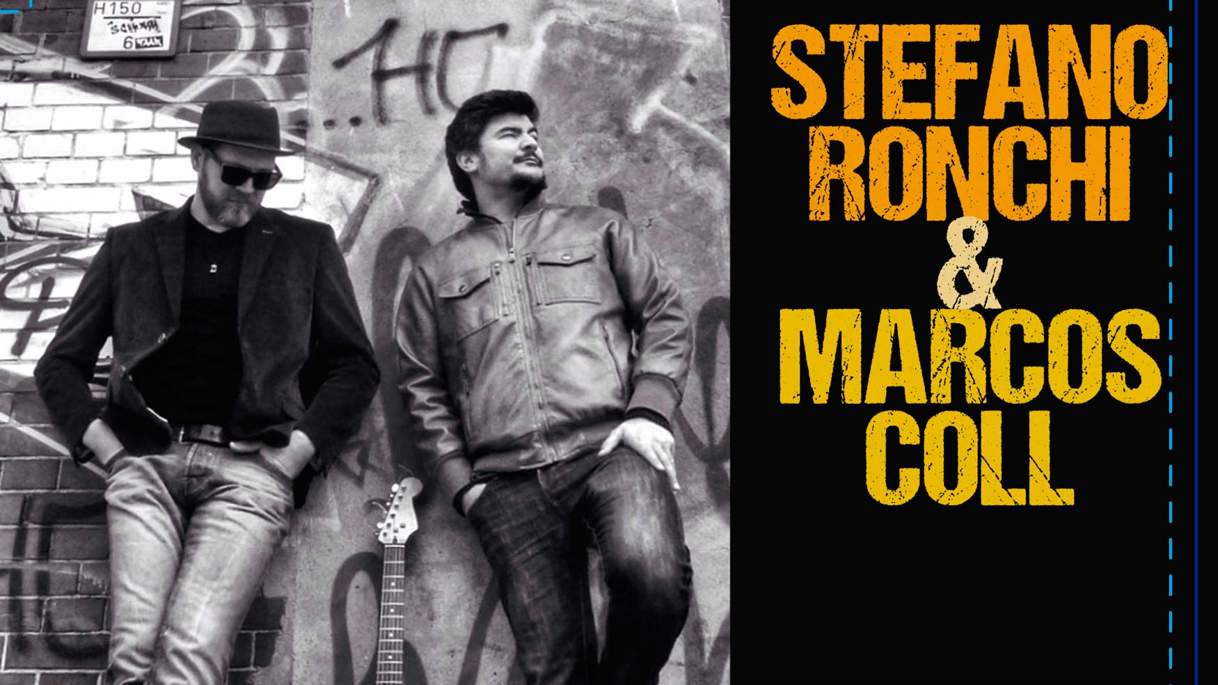 Stefano Ronchi & Marcos Coll: Blues desde Berlín y single en exclusiva