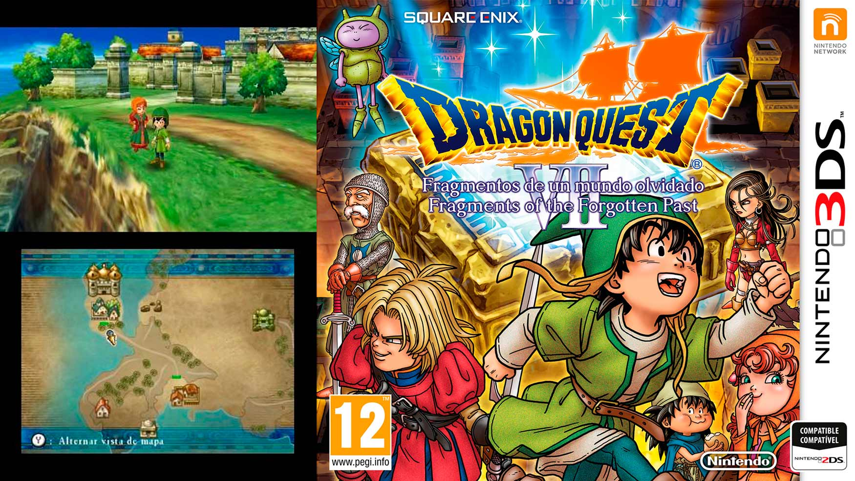 Dragon Quest VII habla gallego
